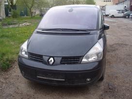 Renault Espace. Nupirkta detale galime