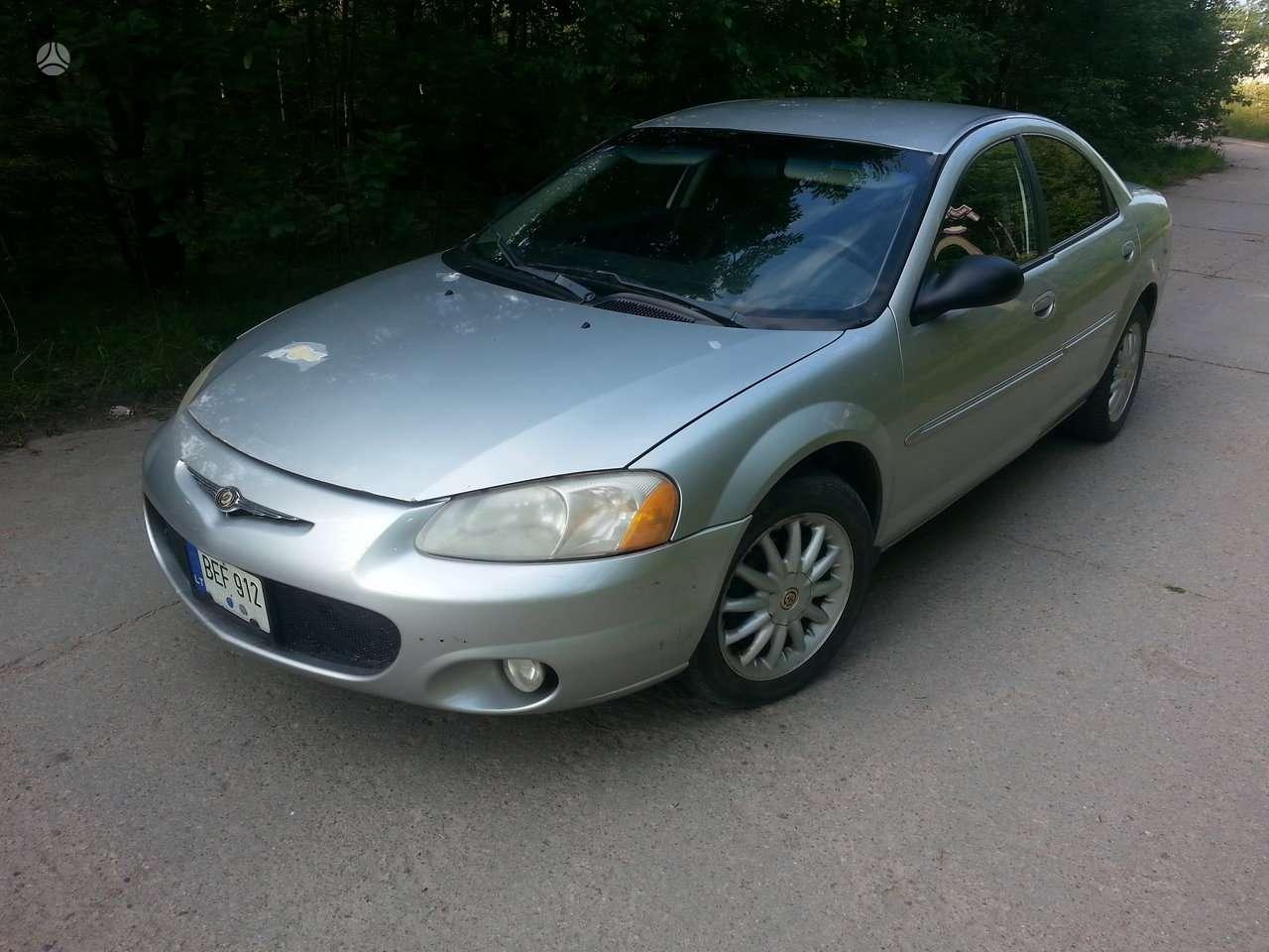 Chrysler Sebring. automobilių naudotos dalys