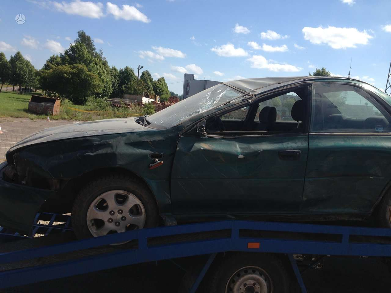 Subaru Impreza dalimis