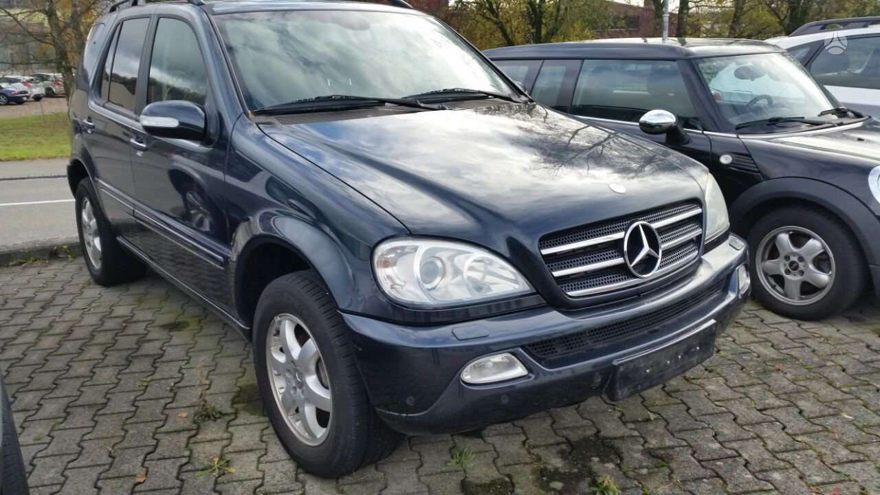 Mercedes-benz Ml400. Europa iš šveicarijos(ch