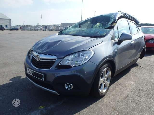 Opel Mokka dalimis. W platus