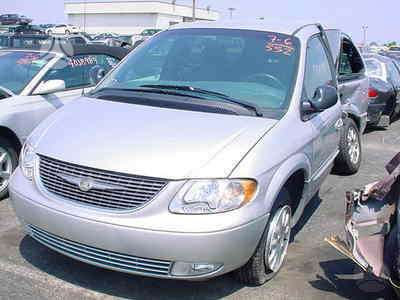 Chrysler Town &amp Country. Pristatome i bet