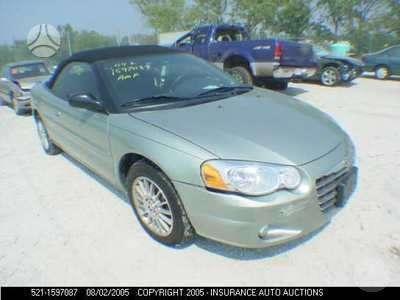 Chrysler Sebring. Pristatome i bet kuri