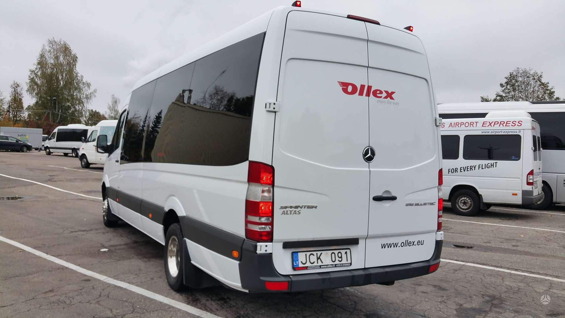 Mercedes benz sprinter altas passenger from 3 5 t up to 5 t 2016 m a4990328 autoplius lt