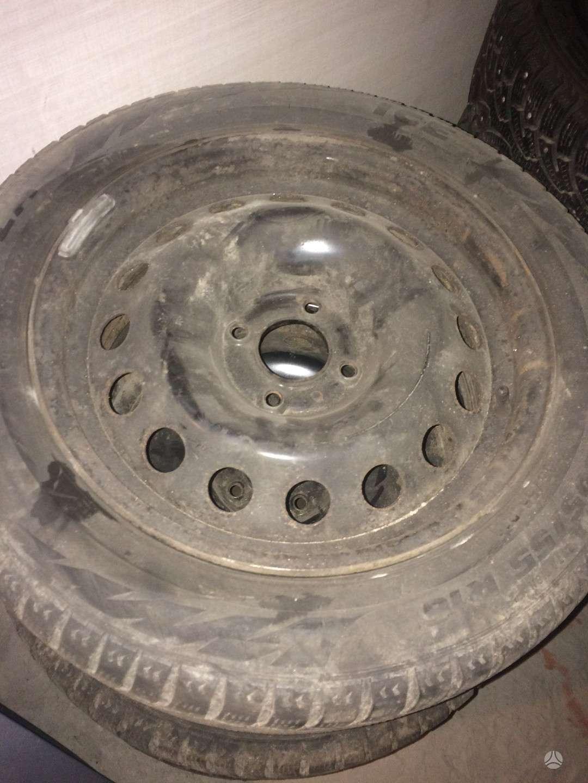 Citroen, plieniniai štampuoti, R16