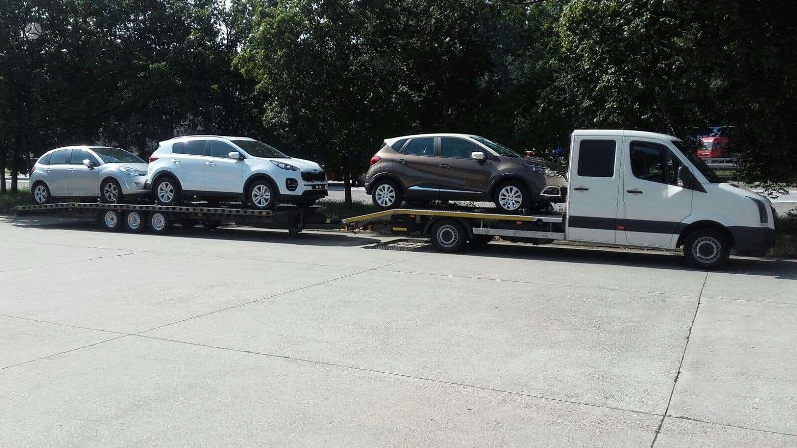 Volkswagen Crafter, autovežiai