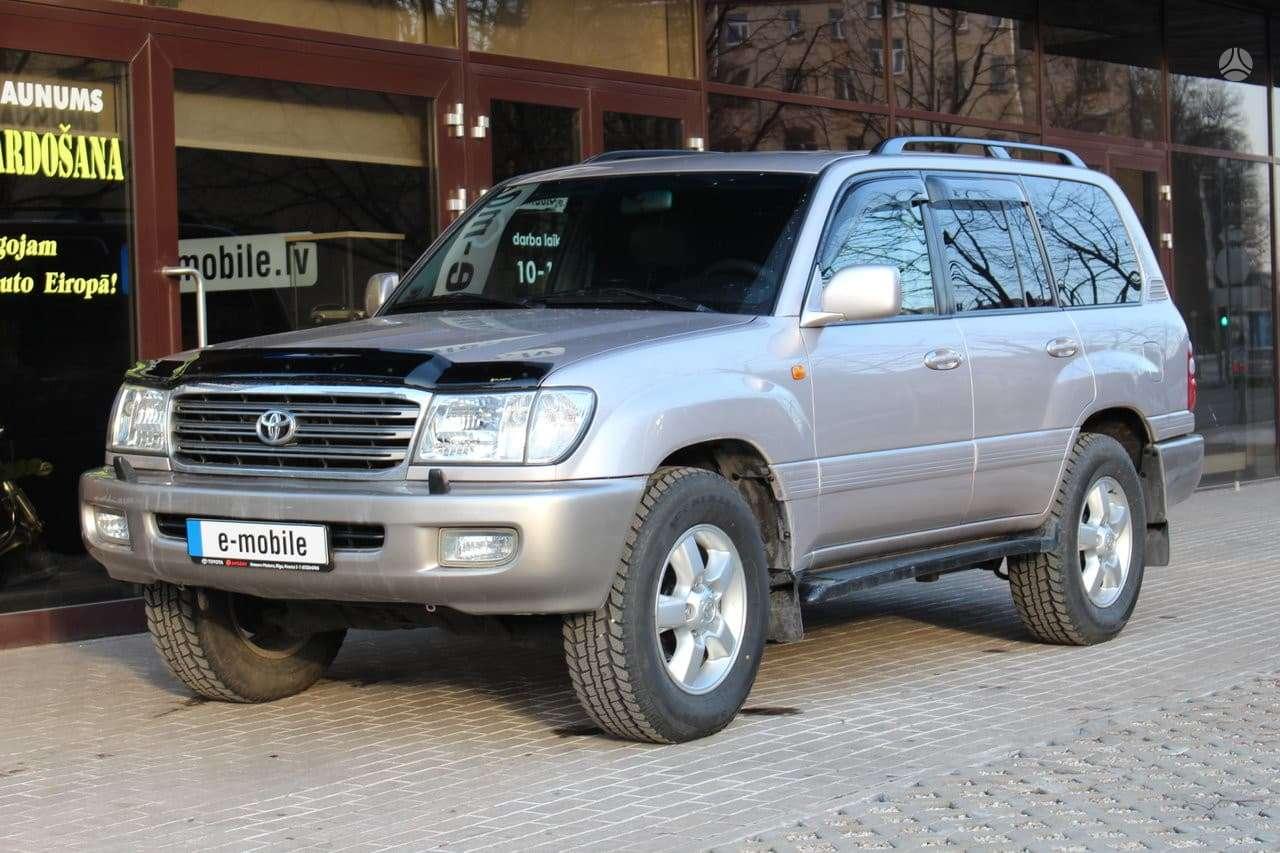 Toyota Land Cruiser, 4.7 l., visureigis