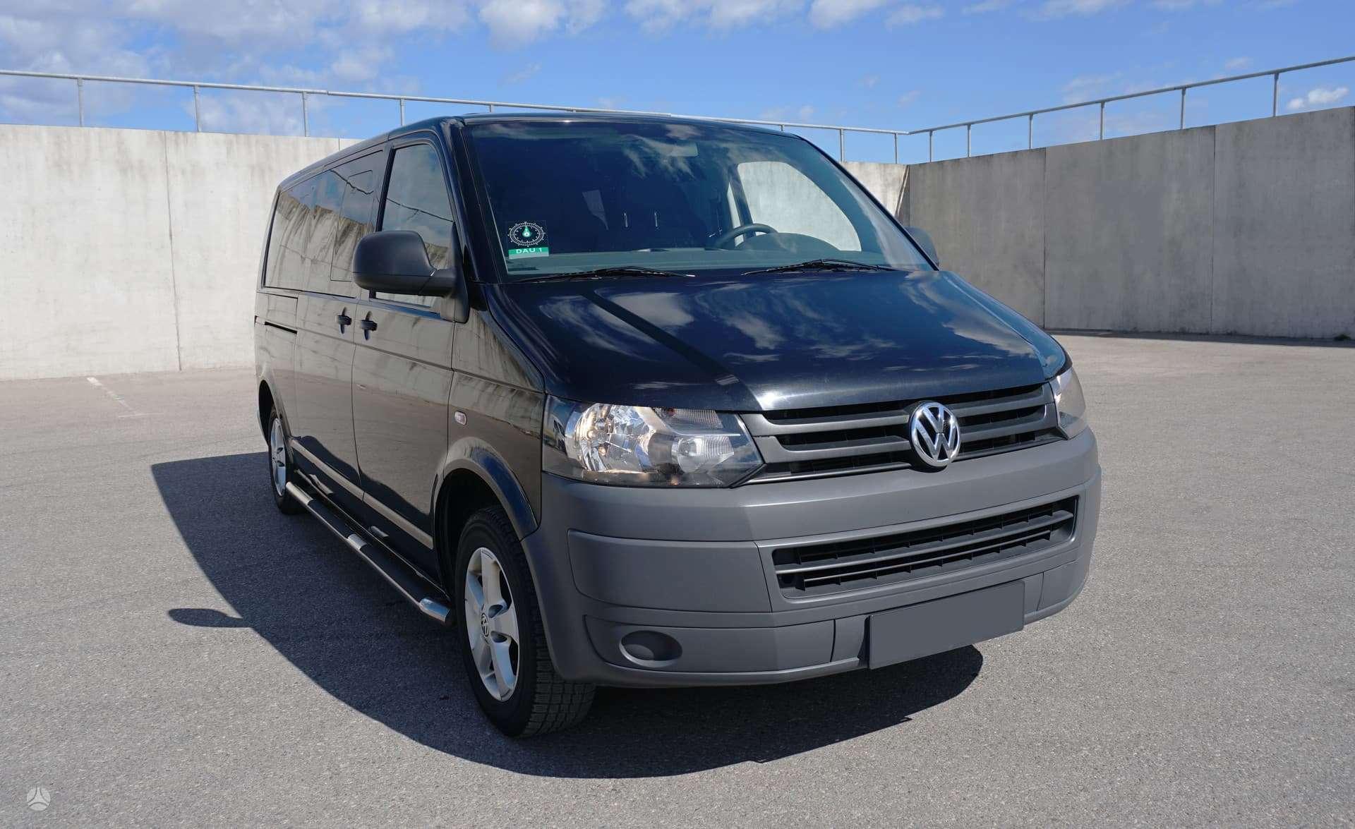 Volkswagen Transporter, 2.0 l., keleiviniai
