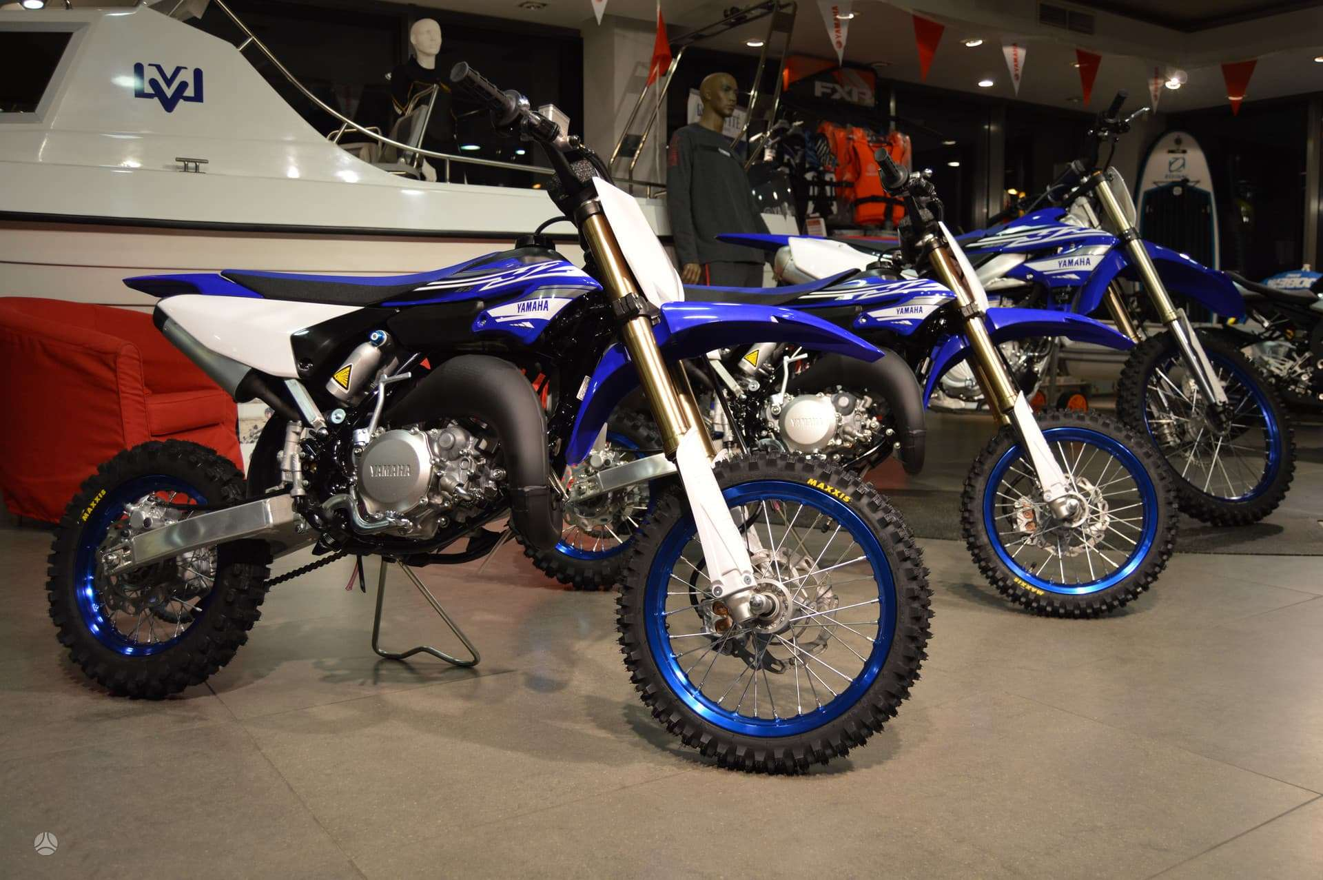 Yamaha Yz 65cc, krosiniai
