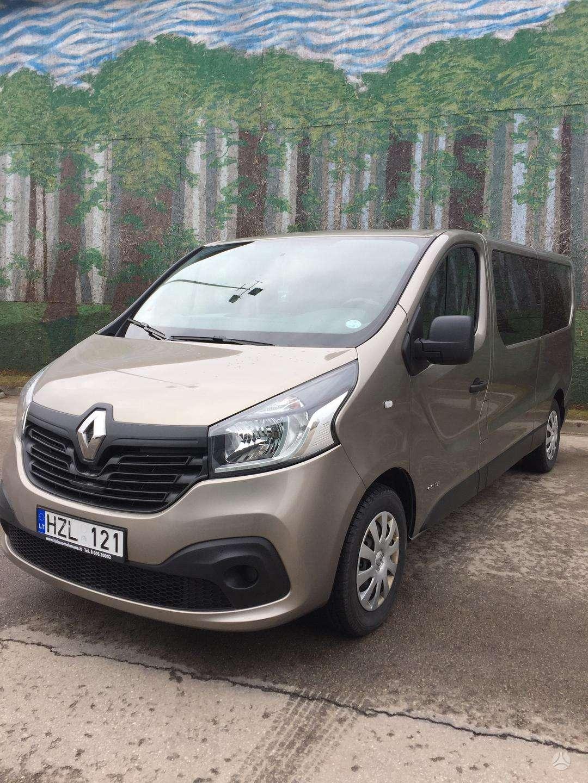 Renault Traffic, keleiviniai mikroautobusai