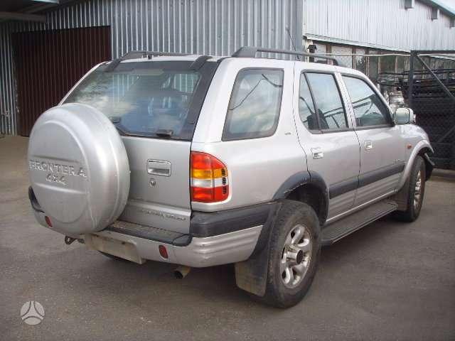 Opel Frontera. Turime 95m.2.4l ir 97m 2.2lbenzin. dalimis.uab