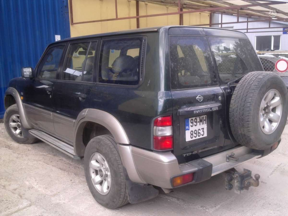 Nissan Patrol. Anglas, dalimis. tel. +370-656-93670   daugiau