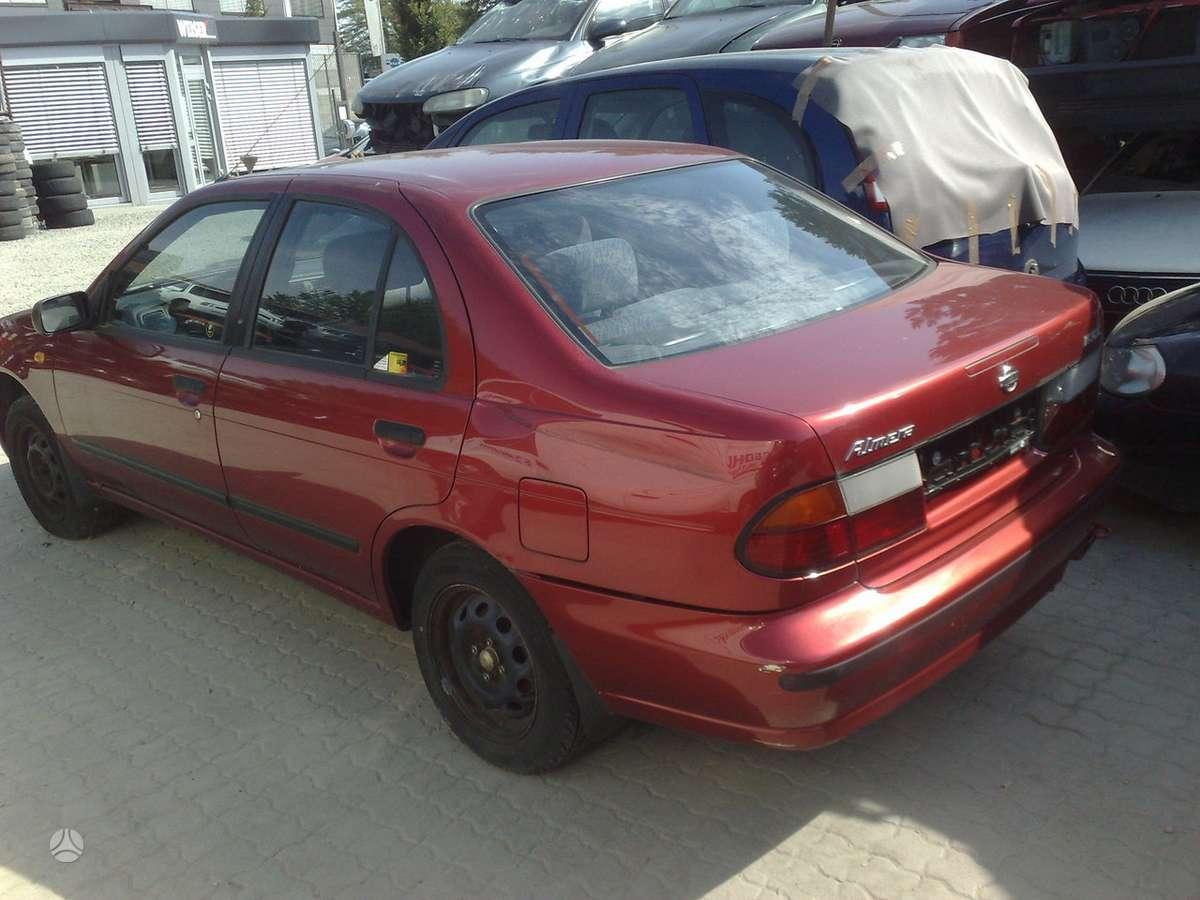 Nissan Almera. Nissan almera 1.6:1.4ltr,1996-00m  dalimis 2/3 ir