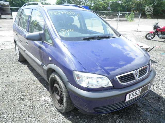 Opel Zafira. Mech.  pavaru  deze  5495775  f23. serviso