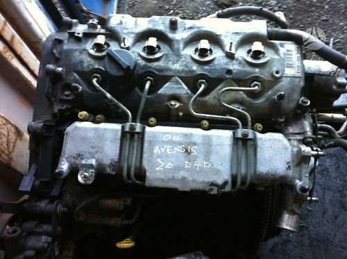 Toyota Avensis. D4d variklis dalimis.
