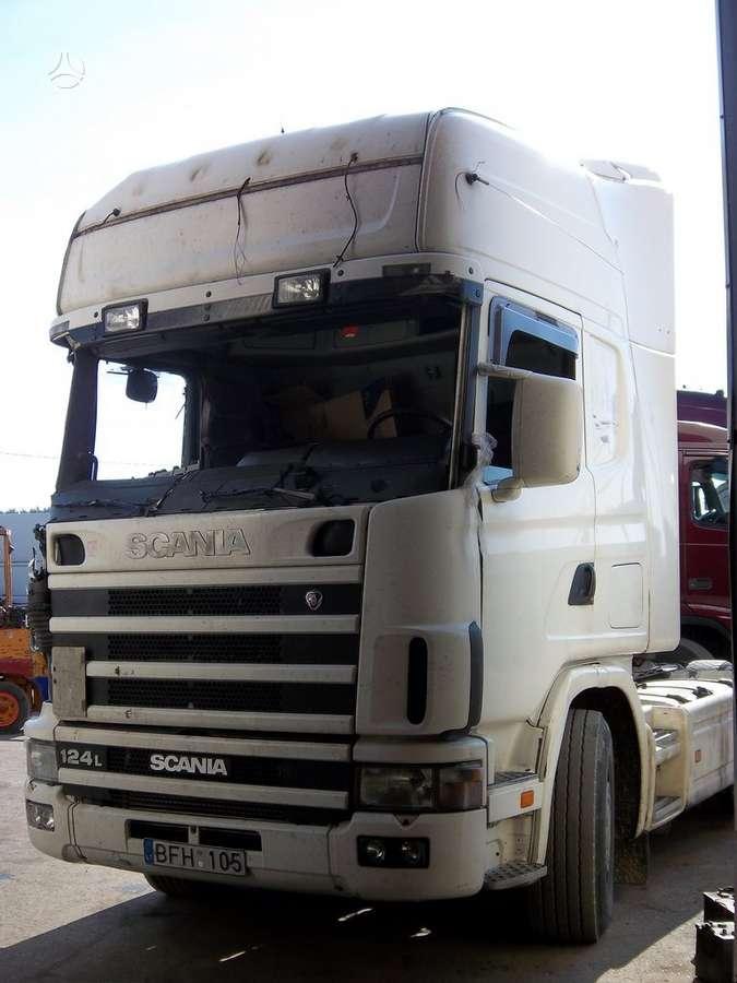 Scania, 124 lA, vilkikai
