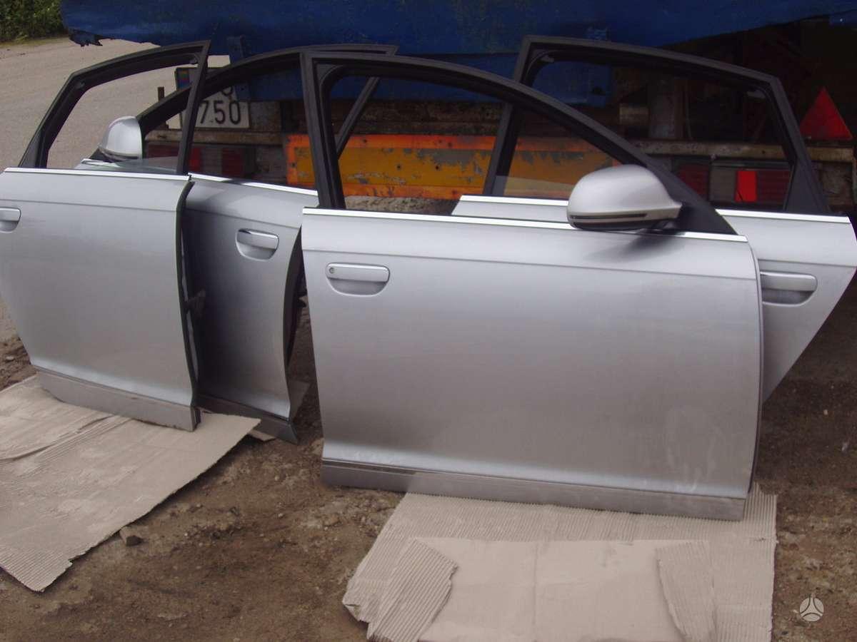 Audi A6. Automobilis dalimis