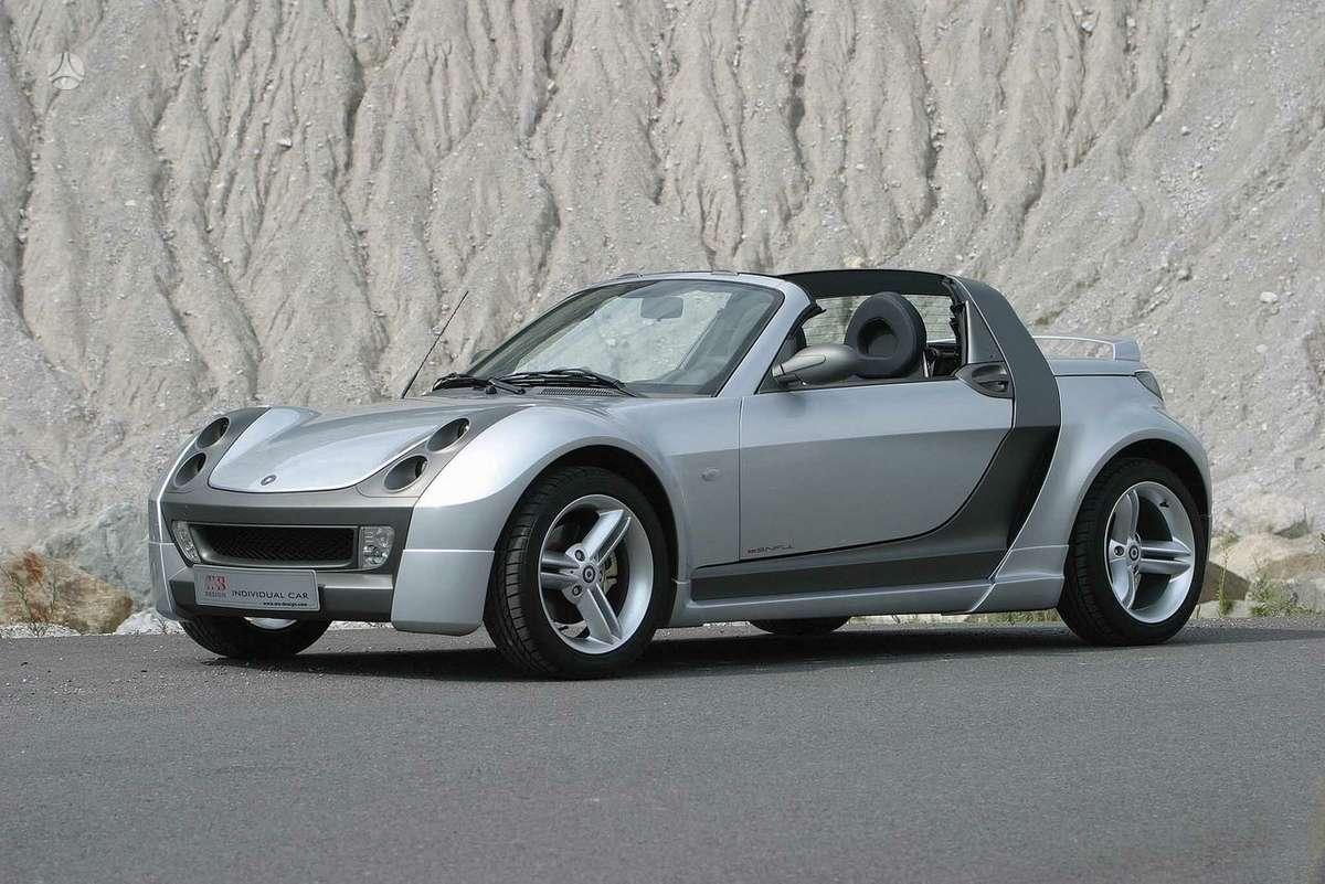 Smart Roadster dalimis. Autodetales smart kiekviena savaite