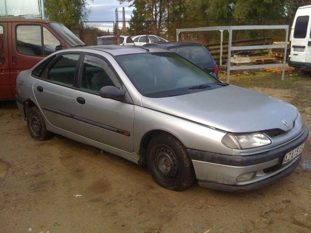 Renault Laguna dalimis. Prekyba originaliomis naudotomis detalė