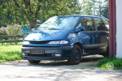 Renault Espace dalimis. Is vokietijos(neekspluatuota lietuvoje).