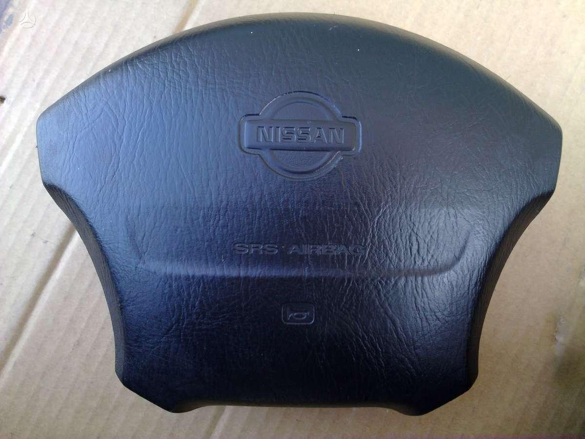 Nissan Micra oro pagalvės