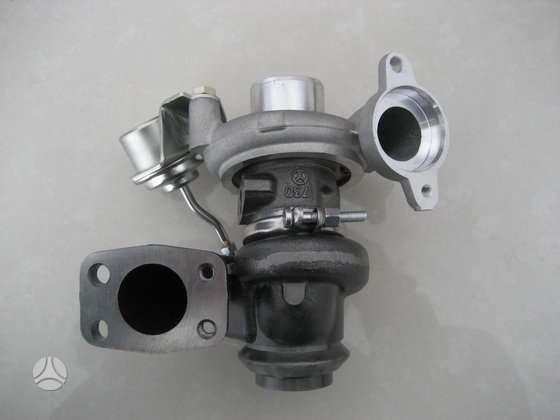 Citroen C3. Kokybiškai ir greitai remontuojame turbokompresorius.