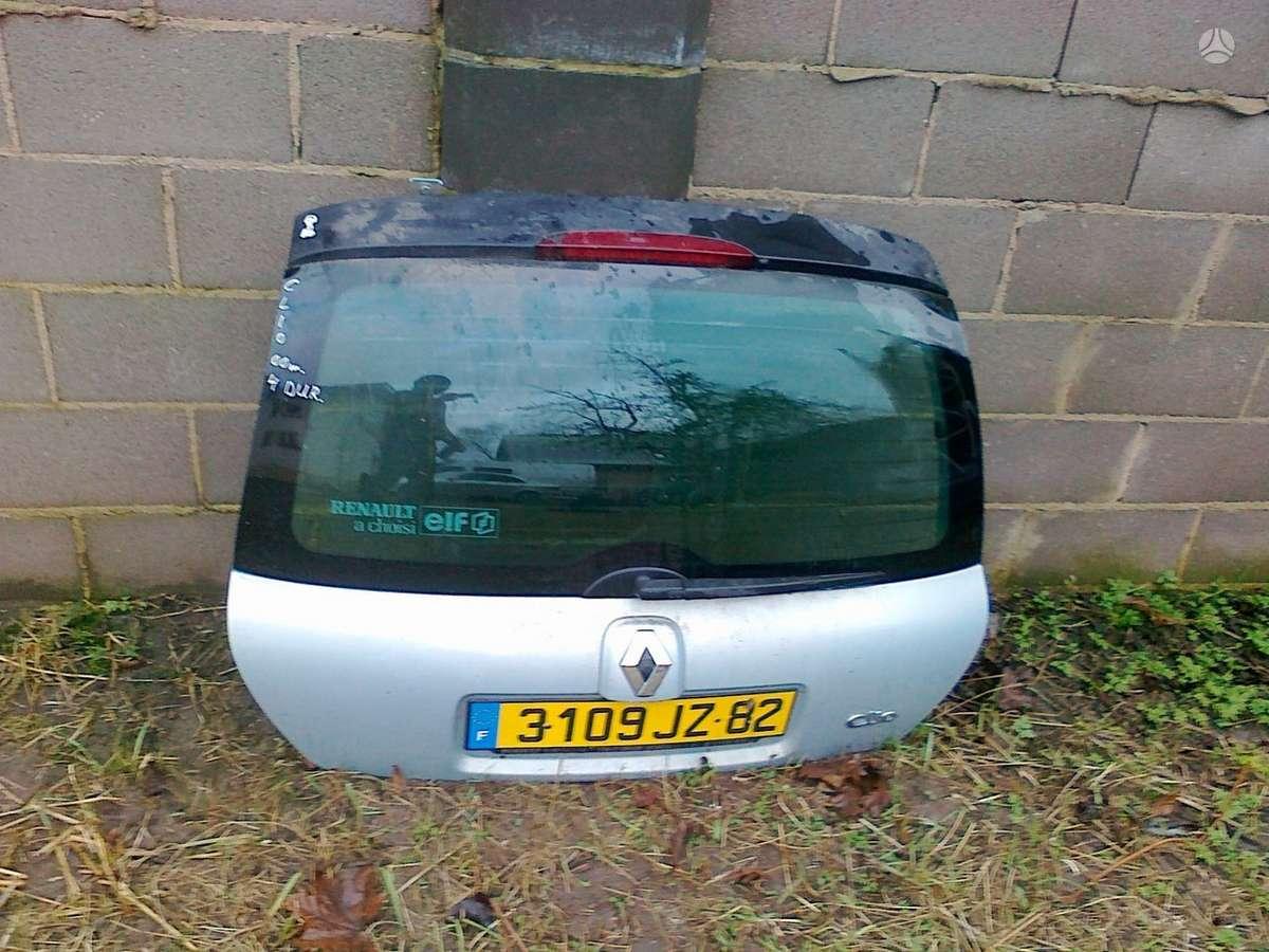 Renault Clio dangtis (priekinis, galinis), žibintai