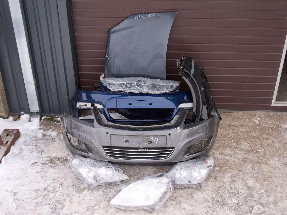 Opel Zafira. Opel zefira kebulo dalys  turiu paprasti ir xsenon