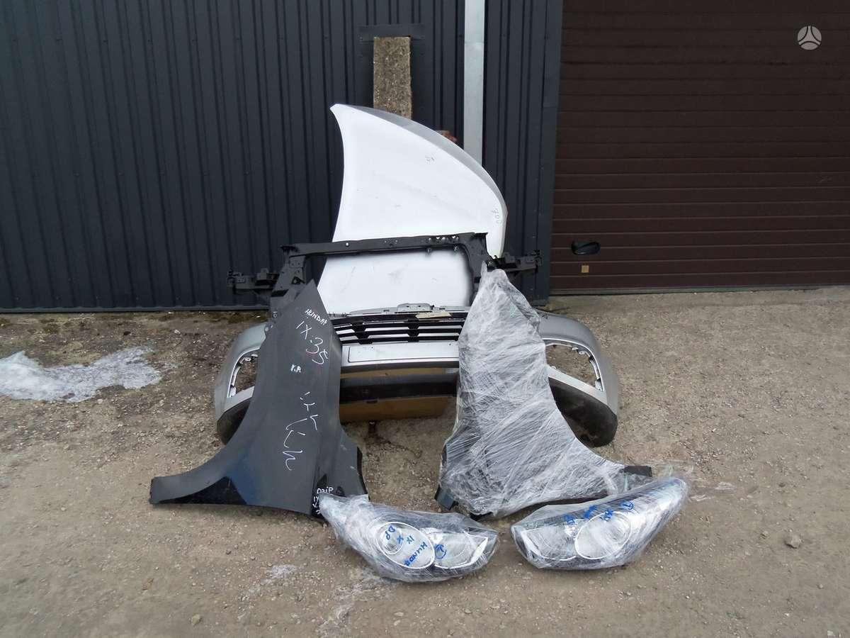 Hyundai ix35. Hundai ix-35 automobiliu dalis  paprasti ir