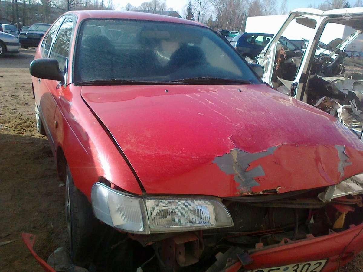 Toyota Corolla dalimis. Dalimis - toyota corolla  1993 1.6l