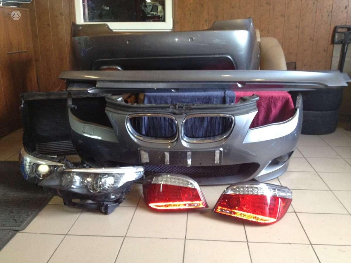 BMW 5 serija. Bmw 5 6 sport vairo airbag , yra m lci ir paprasto