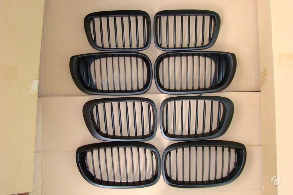 BMW 3 serija. tuning dalys . groteles - juodos; chrom-; carbon;