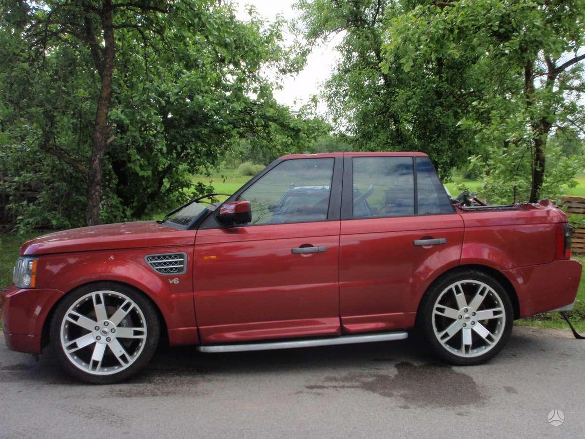 Land Rover Range Rover Sport dalimis. Land rover range rover