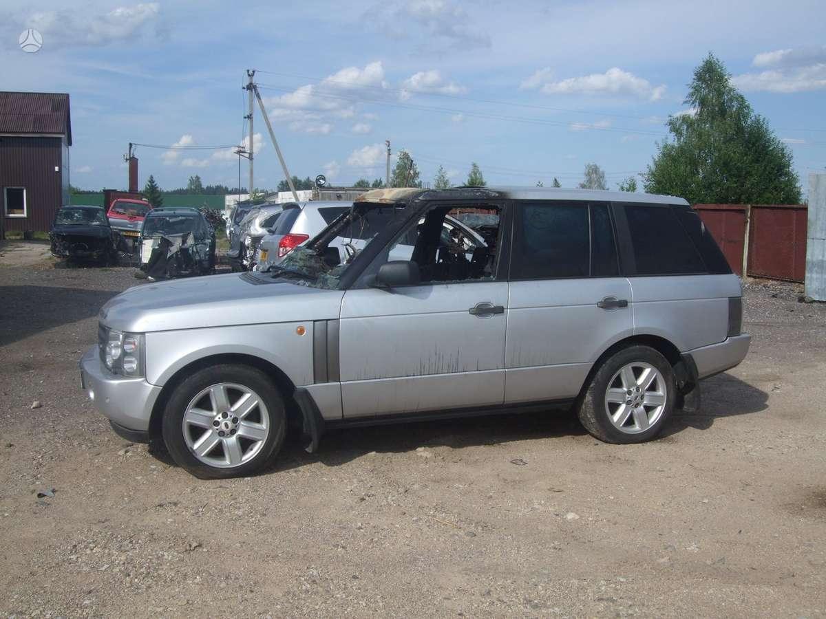 Land Rover Range Rover. доставка бу запчастей с разтаможкой в мин