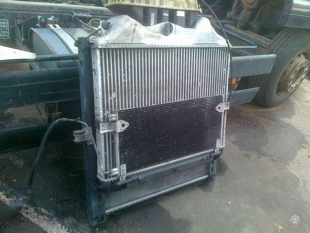 MAN, TGA,TGX aušinimo radiatoriai, vilkikai