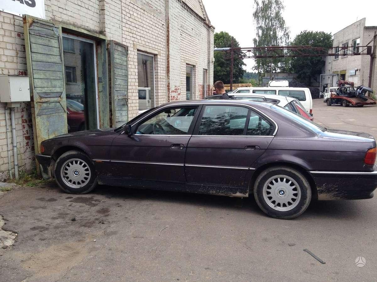 BMW 725. Bmw 725 tds, automatinė pavarų dėžė,klimato kontrolė,
