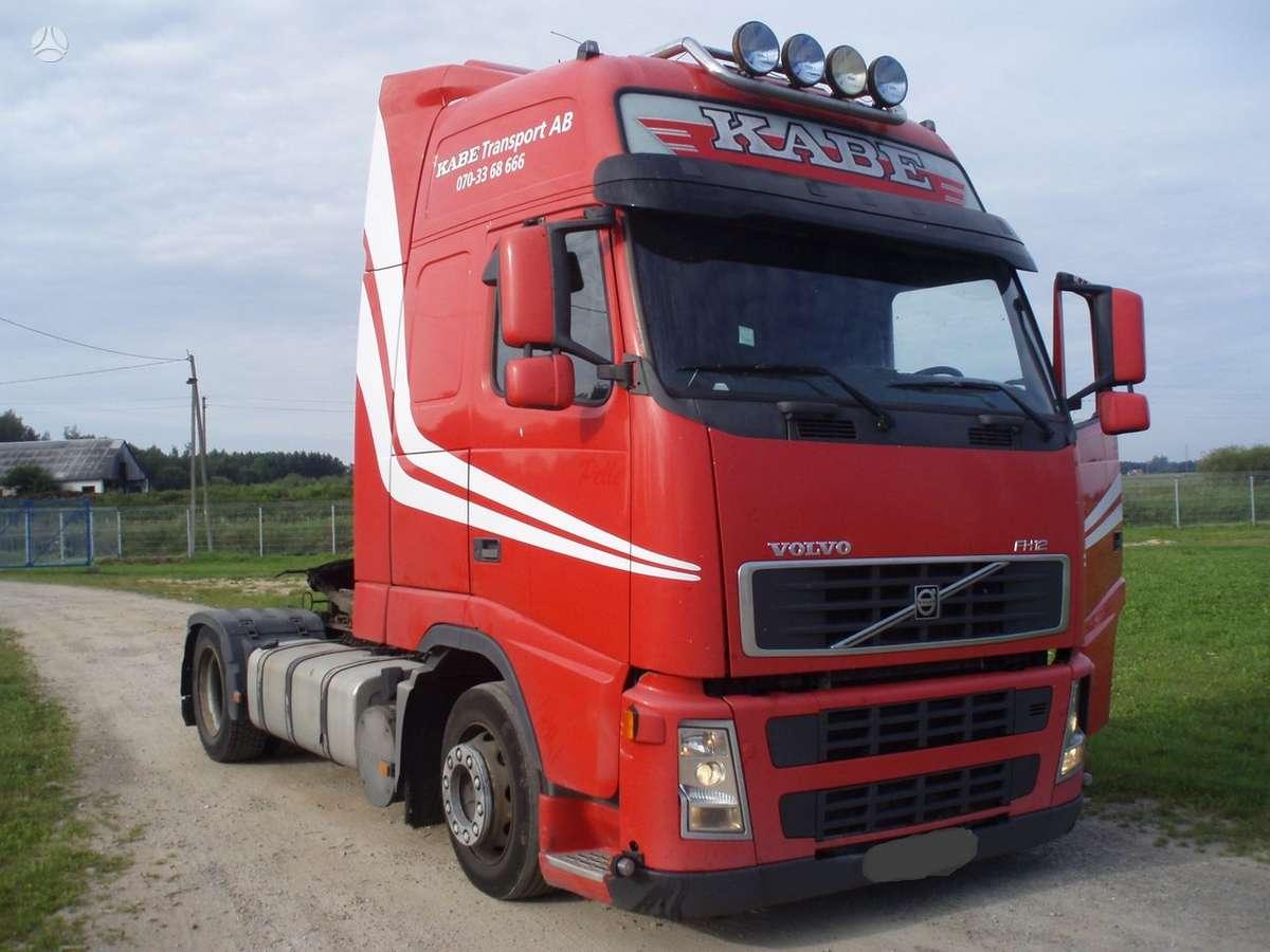 Volvo FH 12 MEGA, vilkikai