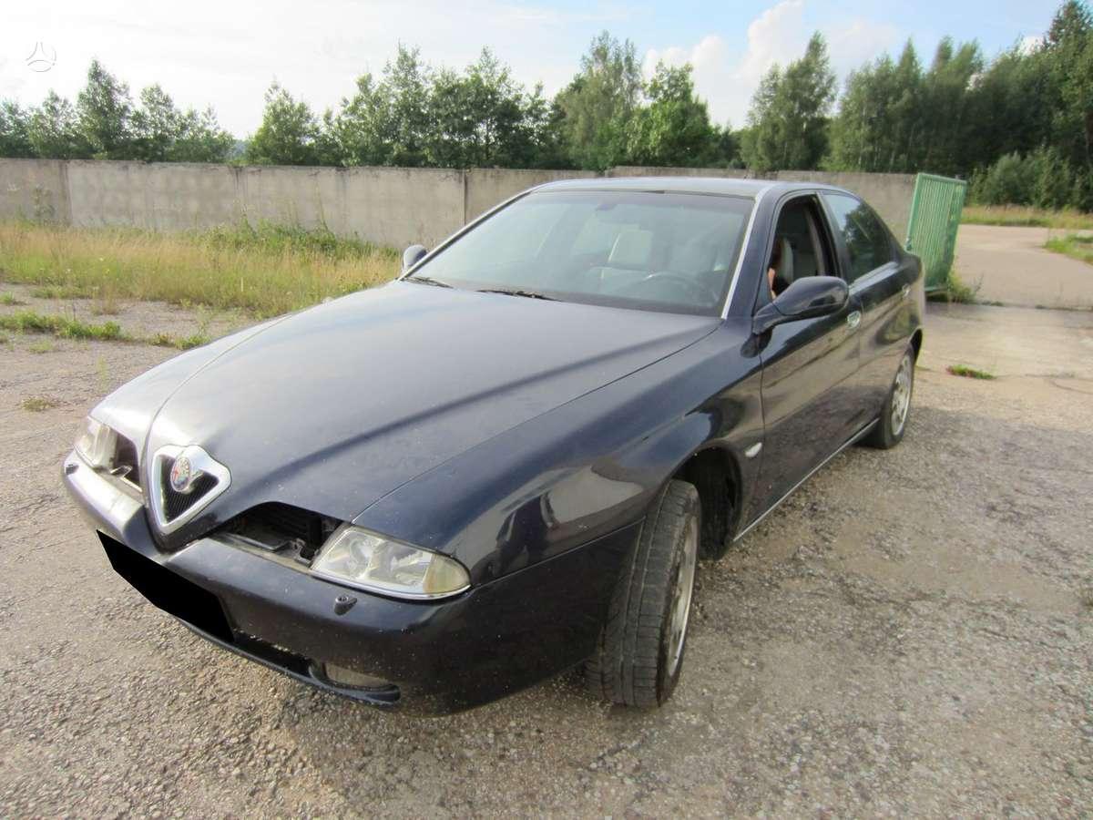 Alfa Romeo 166 dalimis. Variklio, greičių dėžės, priekinio