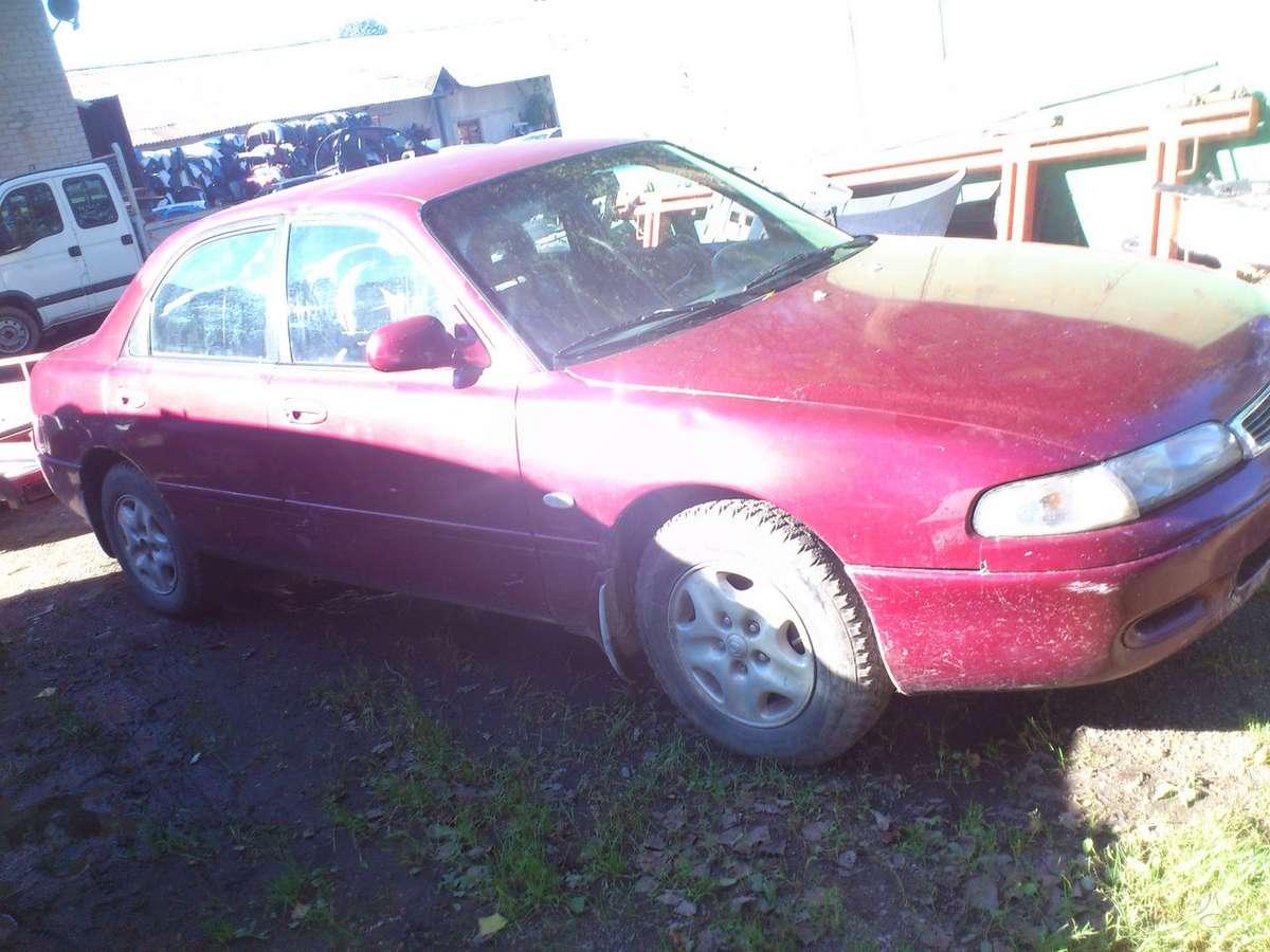 Mazda 626 dalimis. Iš prancūzijos. esant galimybei, organizuojam