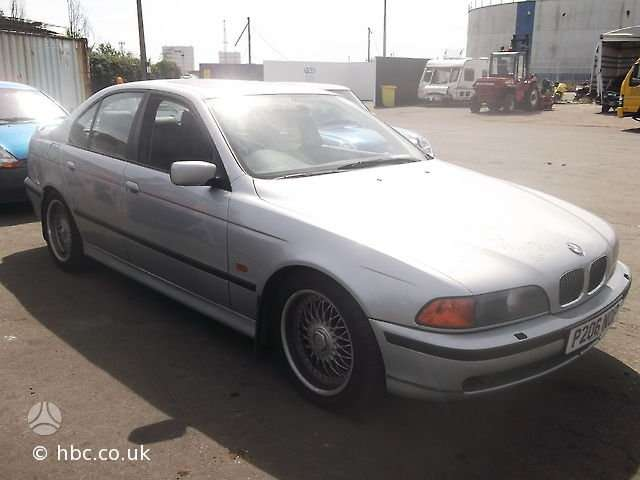 BMW 540. Bmw 540 1997m. 4,4 ltr variklis, automatinė pavarų dėžė,
