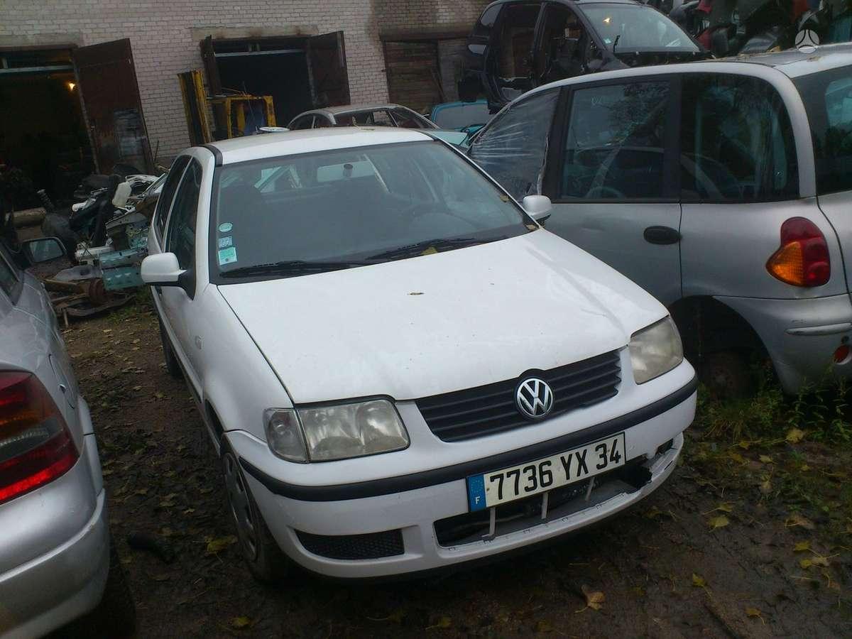 Volkswagen Polo dalimis. Variklio kodas akk. iš prancūzijos.