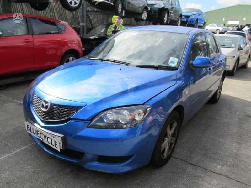 Mazda 3 dalimis.  variklis z6 ,maza rida