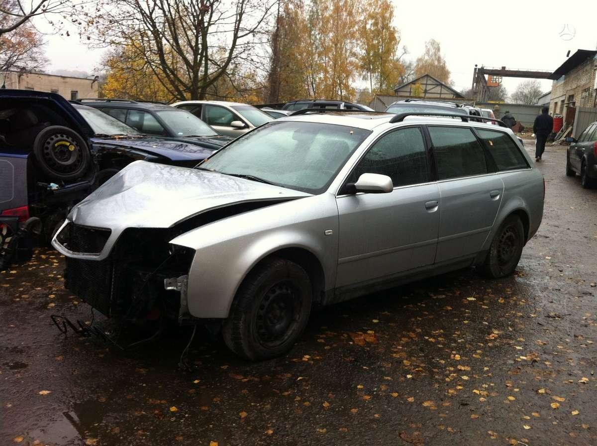 Audi A6. Quattro, odinis salonas, tiesiogines dujos.  naudotos