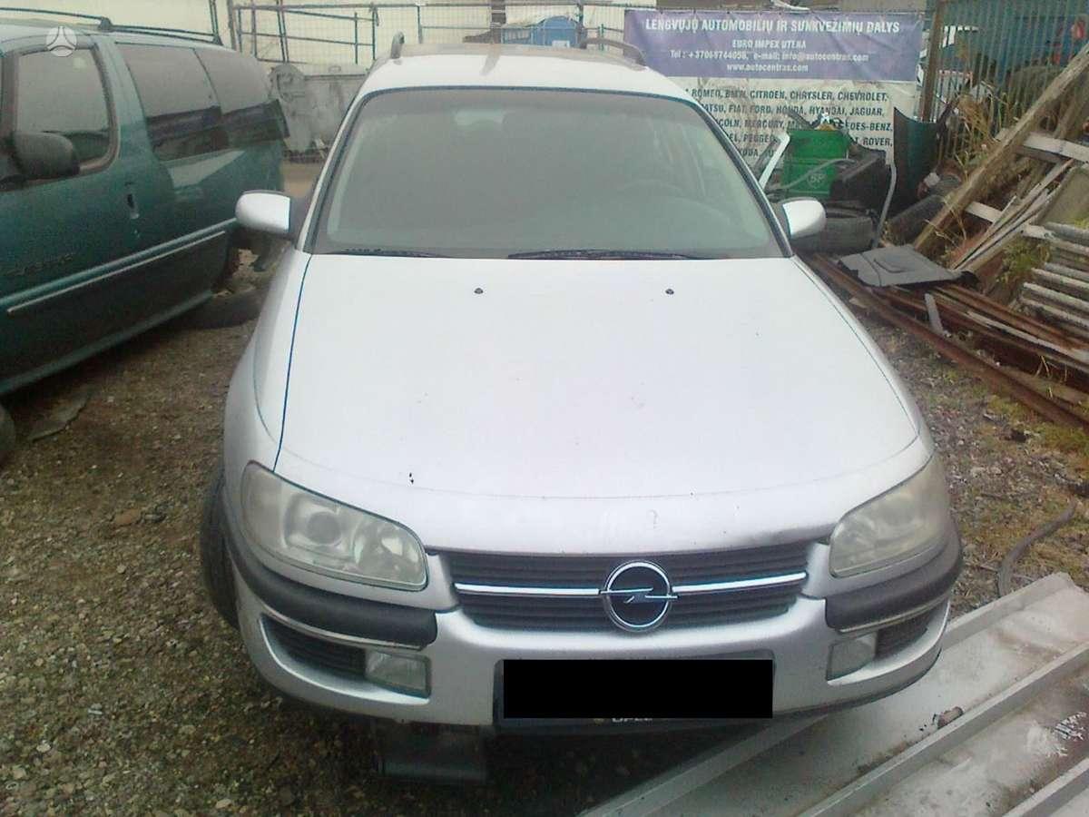 Opel Omega dalimis. Dalimis - opel omega 1997 2.0l 16v benzinas
