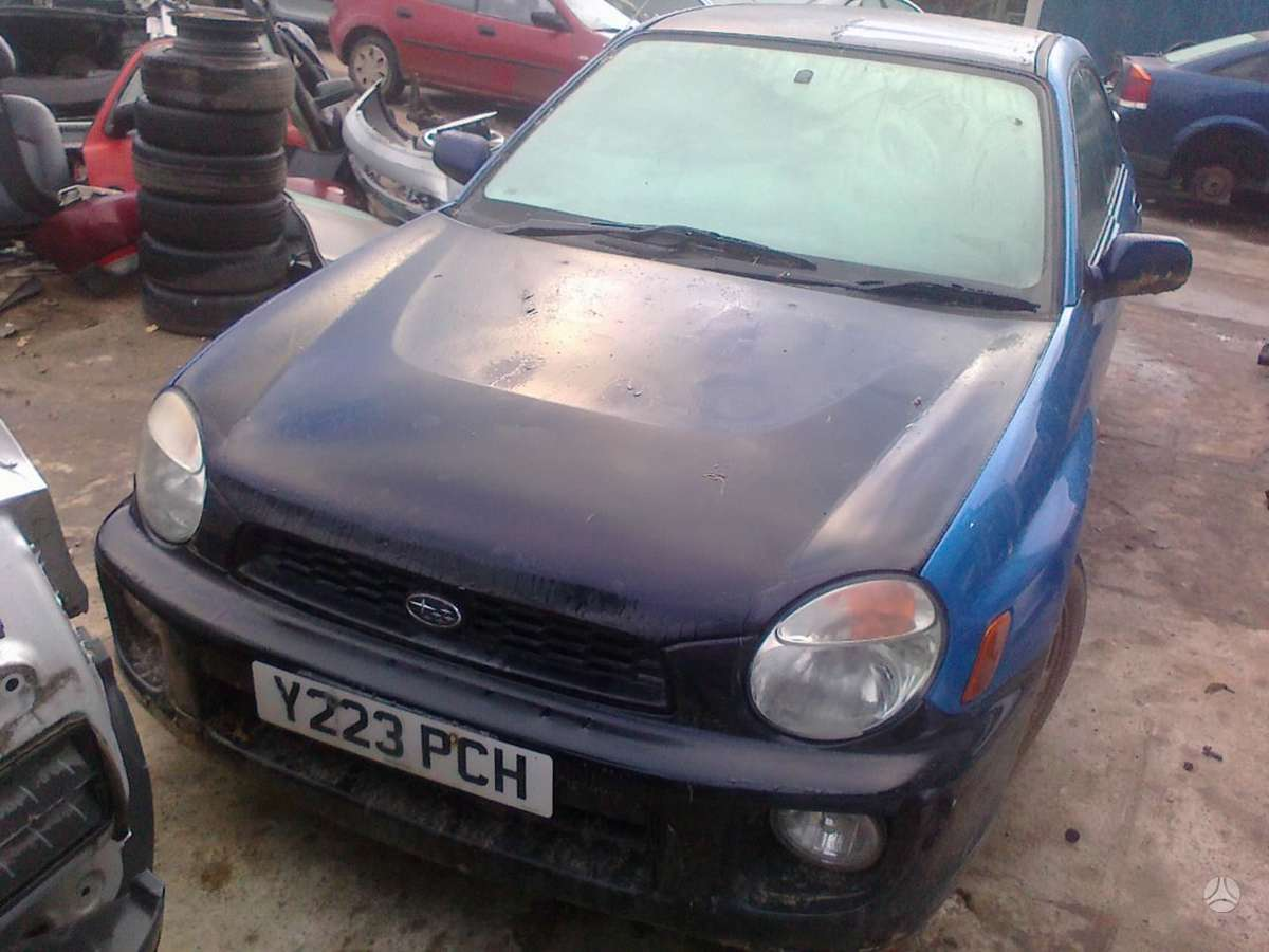 Subaru Impreza dalimis. Dalimis - subaru impreza 2001 2.0l