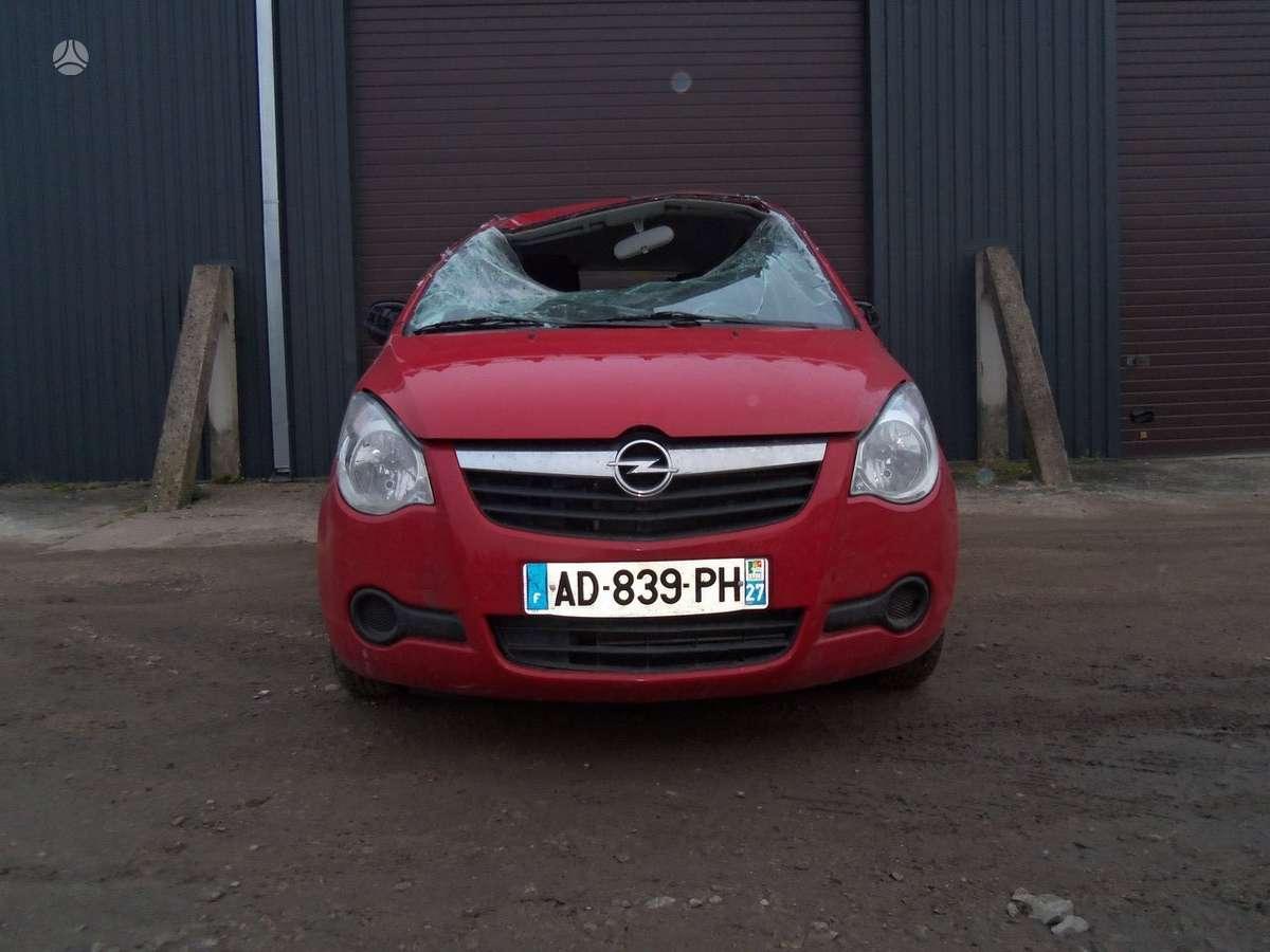 Opel Agila. Opel agila dalimis taipat didelis pasirinkimas