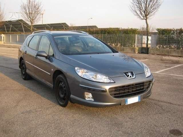 Peugeot 407. Ragu nera.