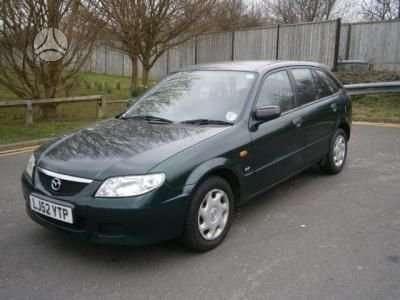 Mazda 323F. 1998 modelio ir 2001 m. modelio , 323f sport  doch,