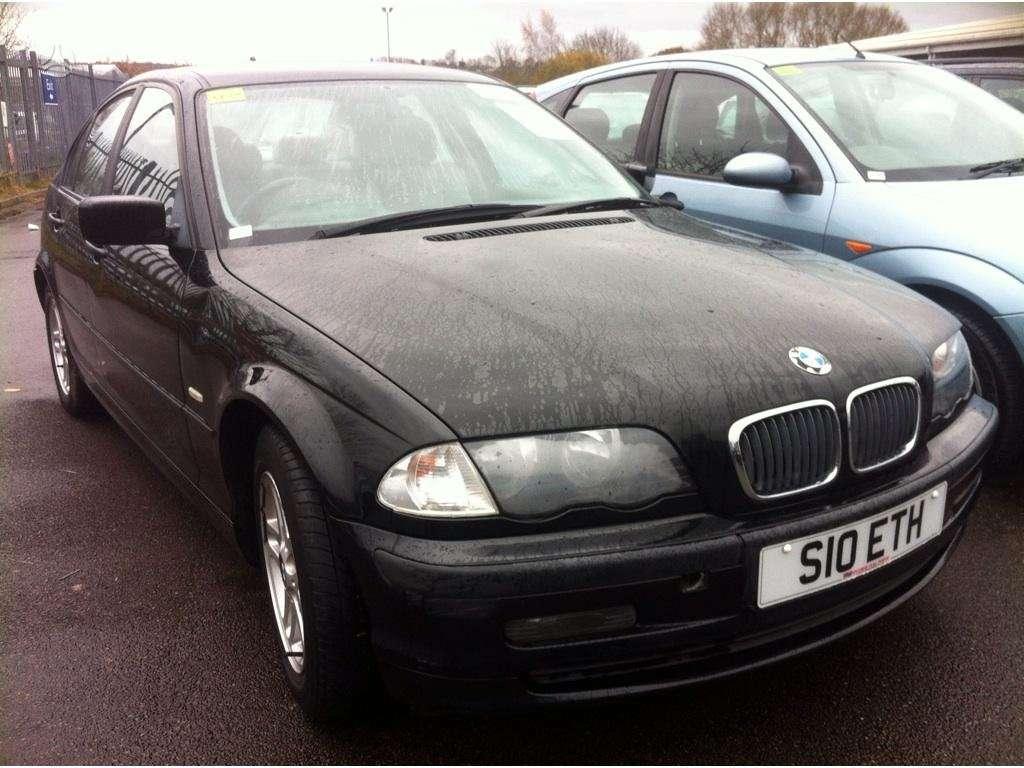 BMW 3 serija dalimis. Juoda, melyna, sidabrine, pilka , visas