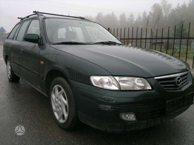 Mazda 626 dalimis. 1990-2001m 1.8, 2.0,2.0dyz